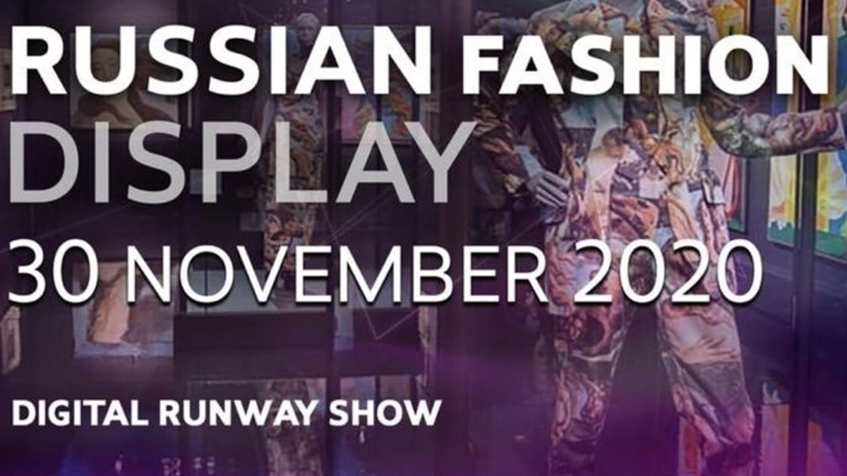 RUSSIAN FASHION DISPLAY 2020